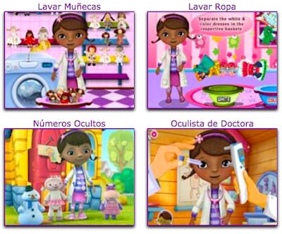 juegos de cuidar muñecos de la doctora juguetes