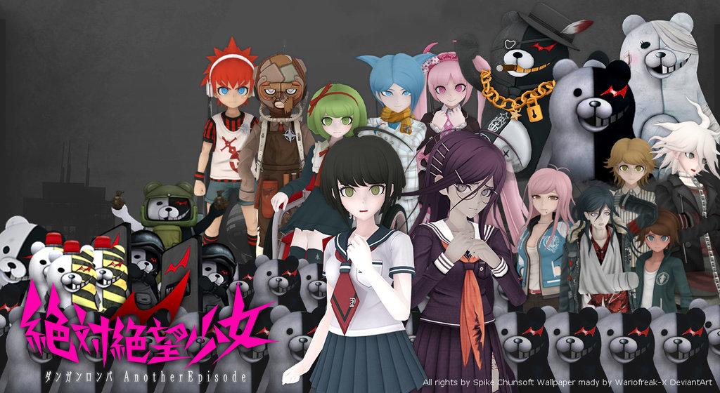 characters in danganro...