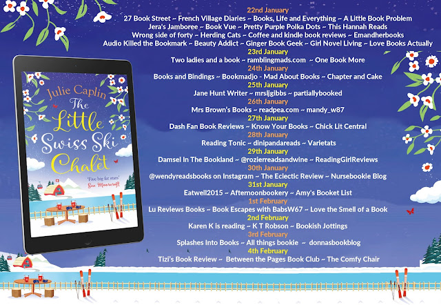 French Village Diaries book review The Little Swiss Ski Chalet Julie Caplin