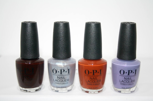 The OPI Muse of Milan Collection (+ swatches)