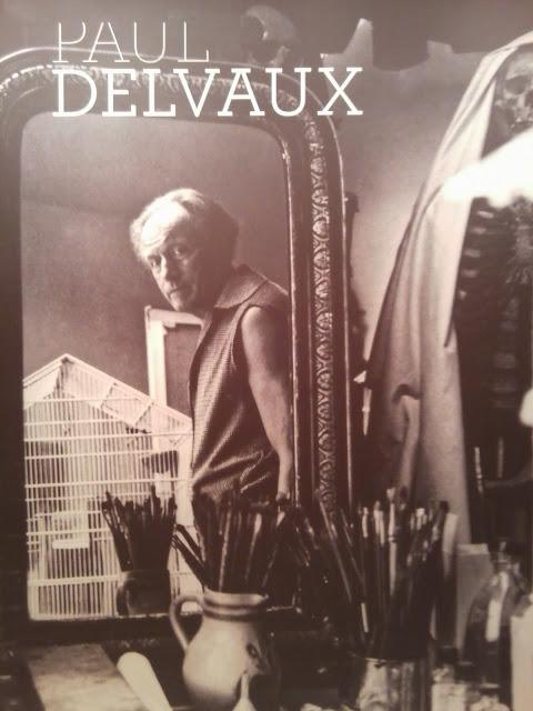 Paul Delvaux, Museo Thyssen Bornemisza, exposicion, arte contemporaneo, pintura, surrealismo, surréalisme, artiste belge, artista belga, voa gallery, yvonne brochard,