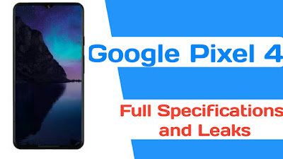Google Pixel 4 full specifications