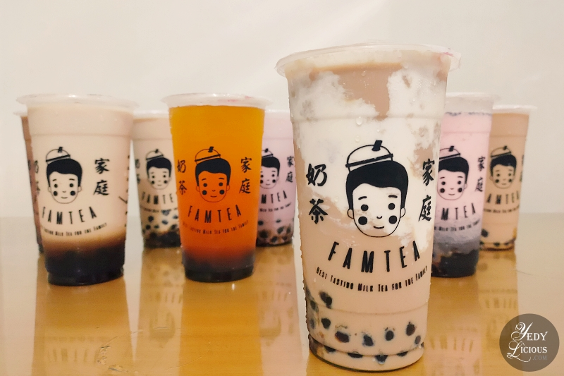 FamTea Milk Tea Metro Manila Philippines Blog Review Branch Price Menu Franchise Delivery YedyLicious Manila Food Blog