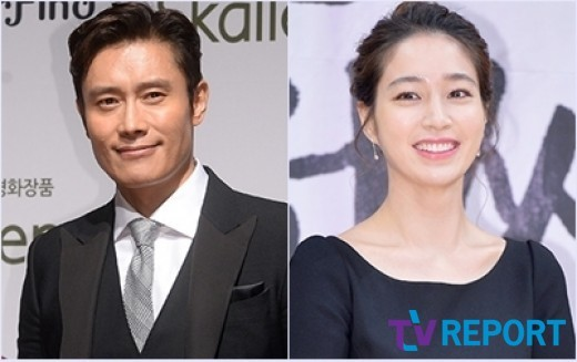 lee byung hun makes a surprise visit to lee min jung on