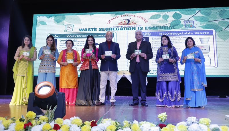 Green card was unveiled by Rakesh Bharti Mittal, Chairman, Governing Council, Sat Paul Mittal School to rope in parental support for environment conservation