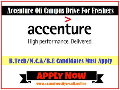 Accenture Careers For Freshers 2019