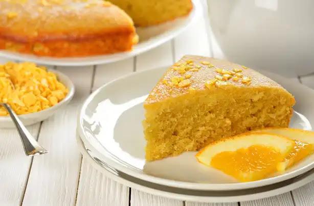 Delicious and easy to make orange cake recipe