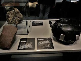 Obsidiana, Museo Historia Natural de Londres