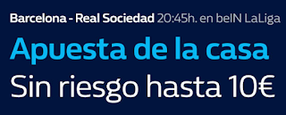 william hill promocion Barcelona vs Real Sociedad 20 mayo