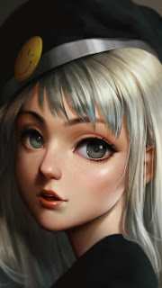 Cute Anime Girl Mobile HD Wallpaper