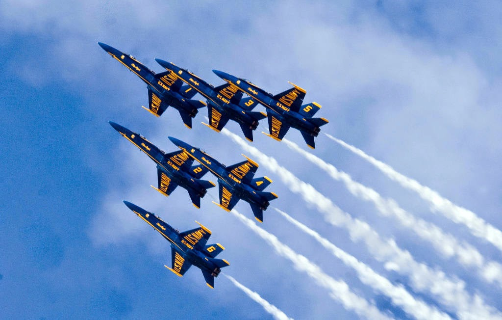 Blue Angles Air Show, Pensacola Beach Florida