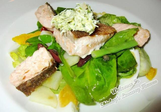 roast norwegian salmon, casa del rio melaka