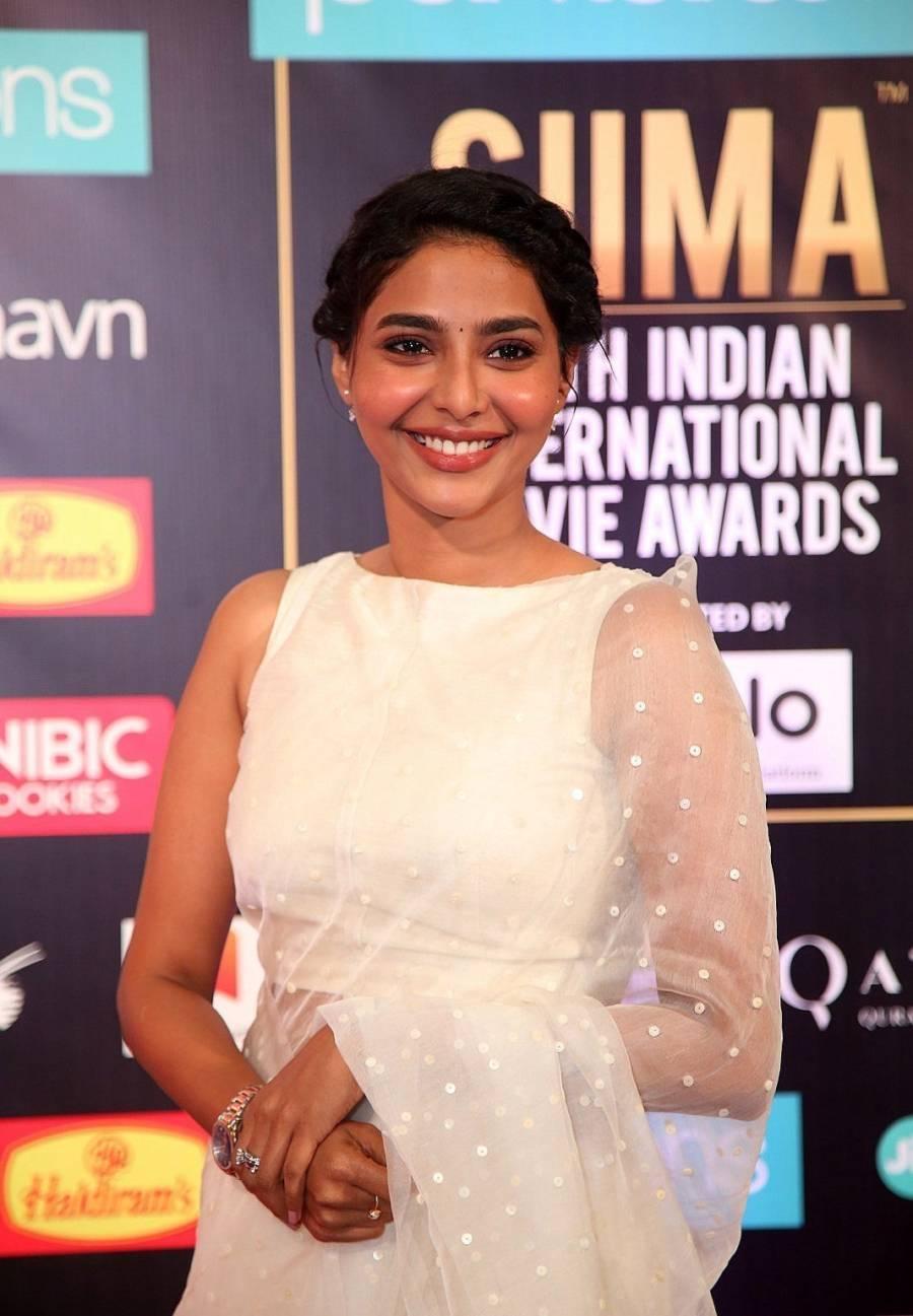 South Indian Actress Aishwarya Lekshmi at SIIMA Awards 2019