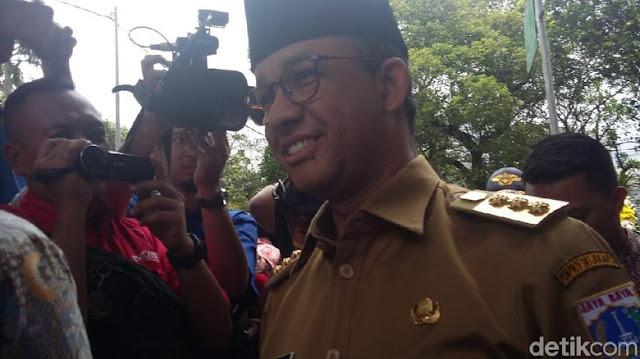 Diajukan Jadi Cawapres Prabowo, Ini Reaksi Anies