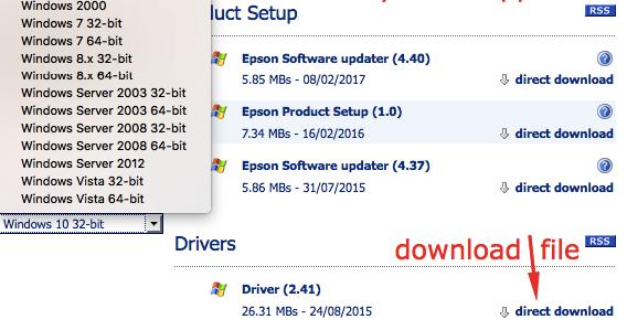 epson software updater virus