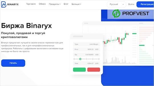 Что такое Binaryx.com. Отзывы, основные функции и сервисы