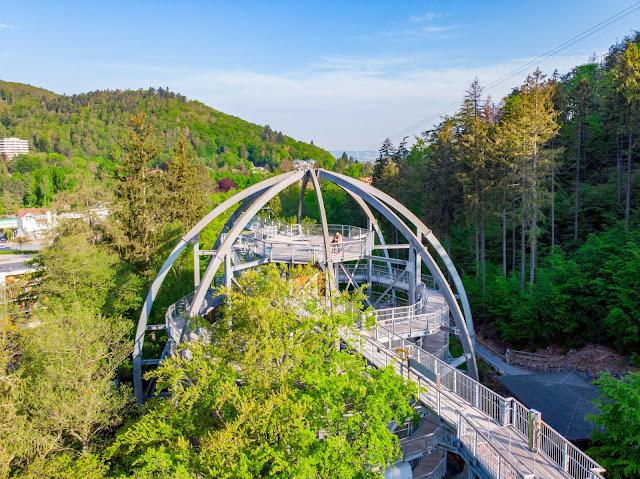 Sonnenaufgang am Baumwipfelpfad-Harz | Wandern in Bad Harzburg Sonnenaufgangswanderung Bad –Harzburg 01