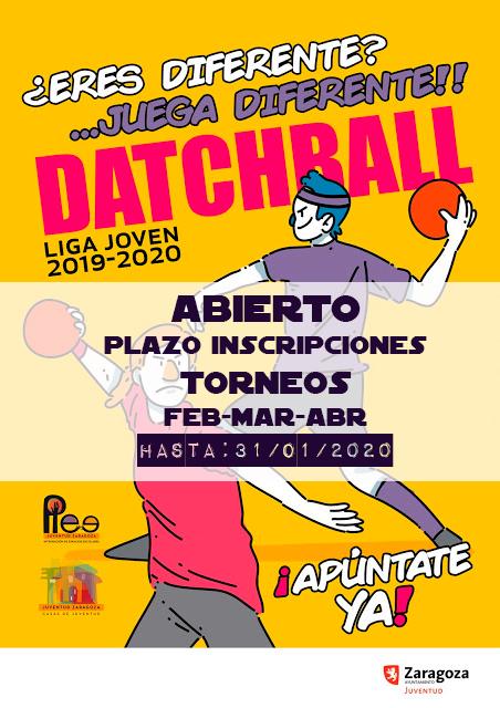 DACTHBALL: Abierto plazo inscripciones Torneos Feb-Mar-Abr