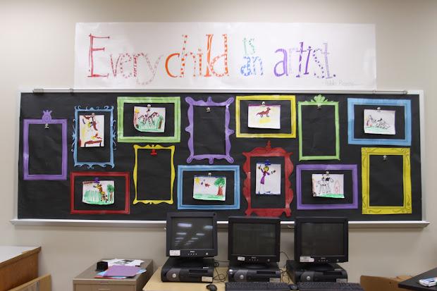 Art Classroom Bulletin Board