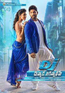 DJ Duvvada Jagannadham 2017 Dual Audio Hindi 200Mb hevc DTHRip