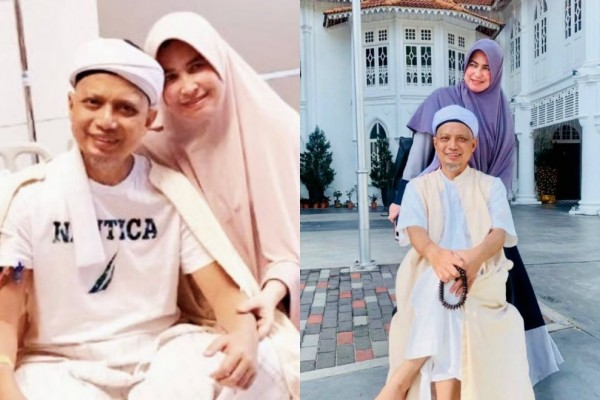 Meninggal Dunia, 10 Kenangan Indah Ustaz Arifin Ilham & Istri Pertama