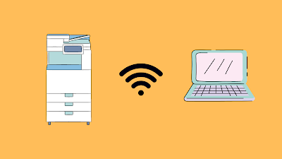 Cara Menghubungkan Mesin Fotocopy ke Komputer Menggunakan Wifi