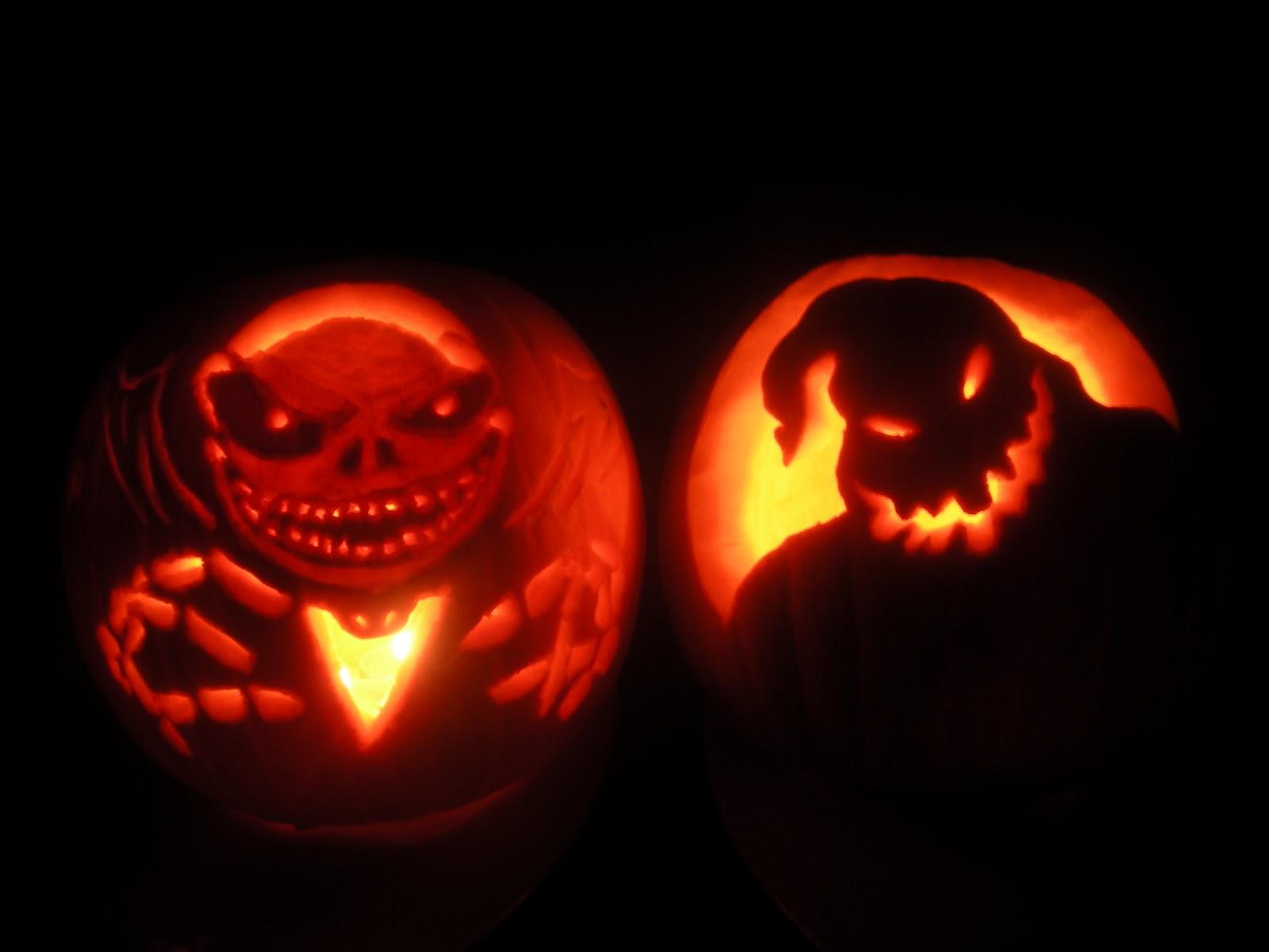 Mr Oogie Nightmare Before Christmas Pumpkin Stencils