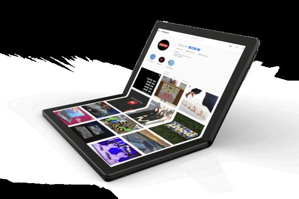 لينوفو تقدم الحاسوب الأول في العالم القابل للطي ThinkPad X1 Fold