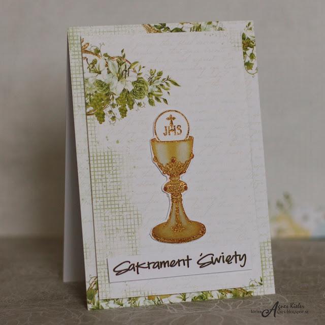 papiery i dodatki z kolekcji Holy Communion