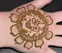 Simple Henna Designs for Kids that they would like to show in any function.