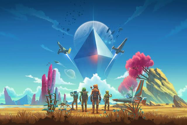 game eksplorasi planet yang diluncurkan pada tahun  Akhirnya! Pembaruan besar-besaran No Man's Sky akan menambahkan multipemain pada bulan Juli