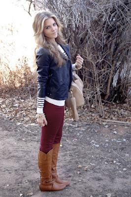 pantalones de mujer para botas vaqueras