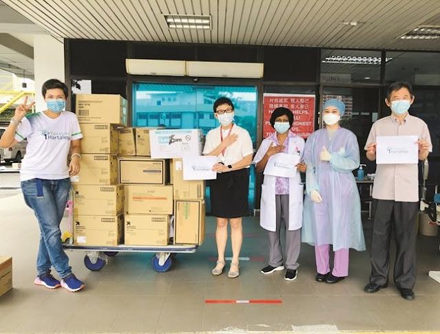 Yayasan Hartalega,  supplied COVID-19 packs to students in rural schools, Batang Berjuntai, Sepang, Banting, Sabah, Lifestyle