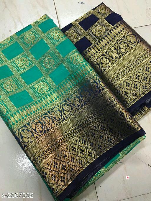 Aashiyana Ethnic Belaton Silk Women's Sarees