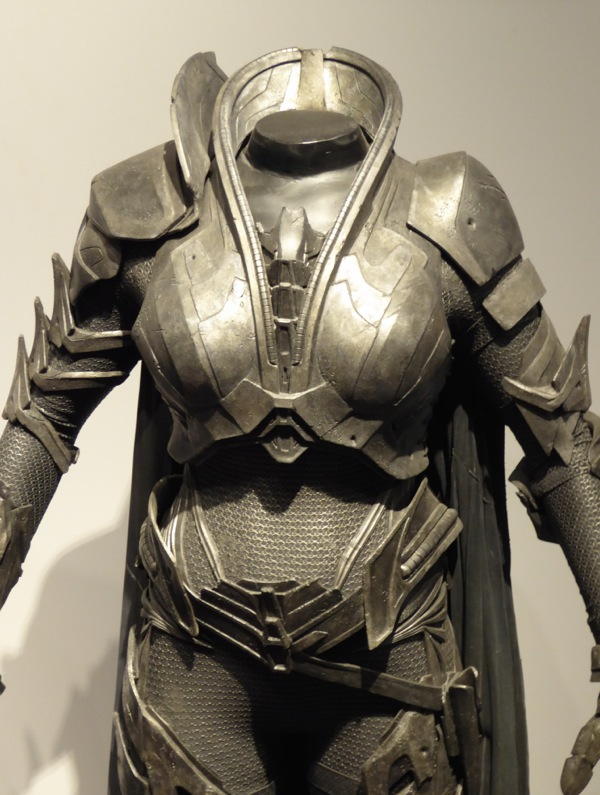 Man of Steel Faora-Ul film costume detail