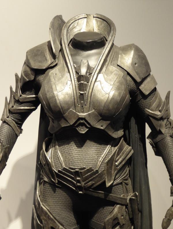 Man of Steel Faora-Ul film costume detail