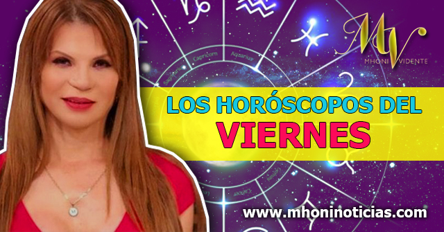 Los Horóscopos del VIERNES 16 de OCTUBRE del 2020 - Mhoni Vidente