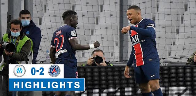 Marseille vs PSG Highlights