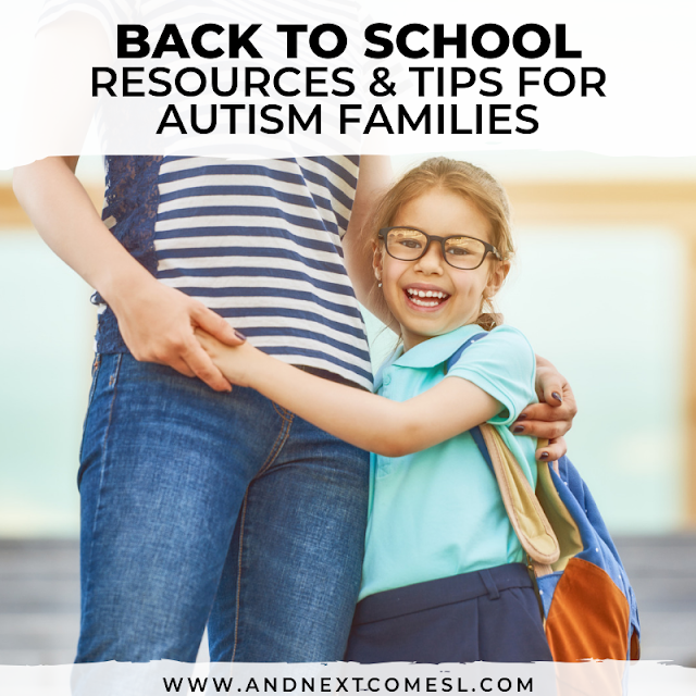 Autism back to school