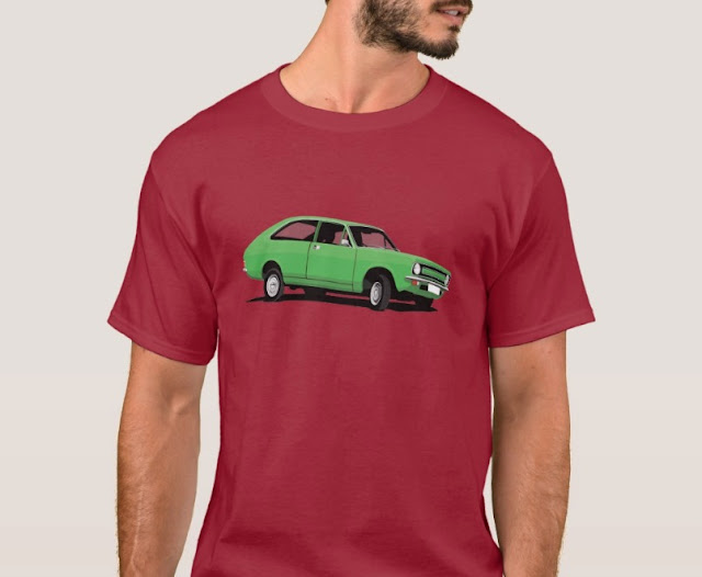 Morris Marina Coupé green t-shirt