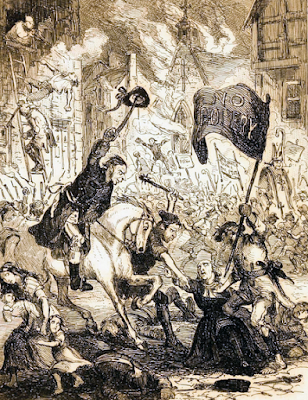 The Gordon Riots  from The Chronicles of Crime or The Newgate   Calendar by C Pelham illustrated by Phiz (1841)