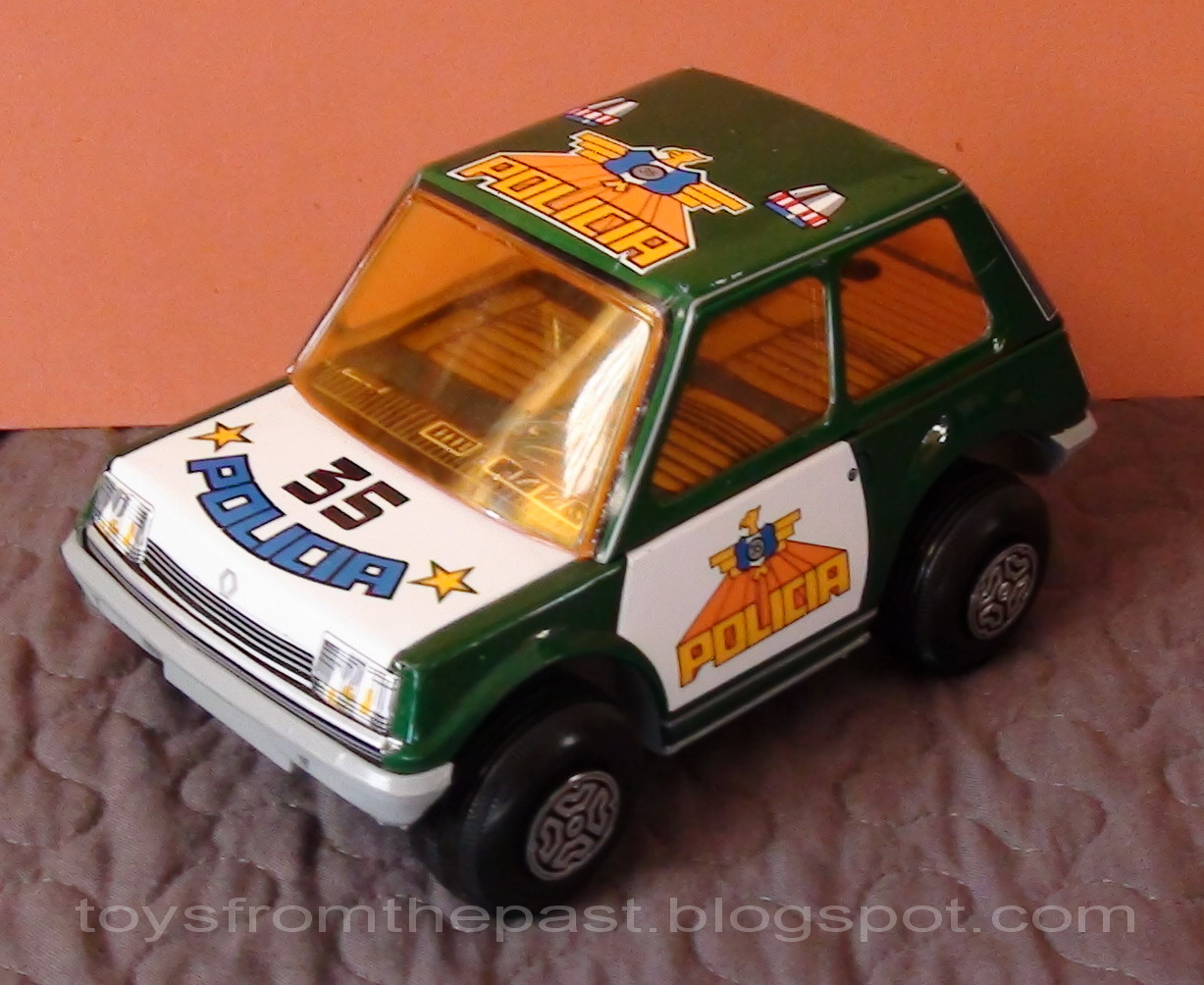Car In Spanish >> Toys from the Past: #214 OBERTOYS - GROTES-CAR RENAULT 5 (Ref. 102) (Around 1984)
