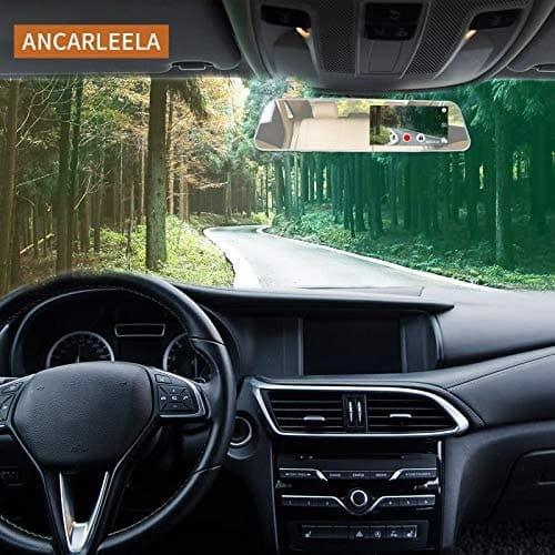 Review ANCARLEELA 1080P HD Mirror Dash Cam Car