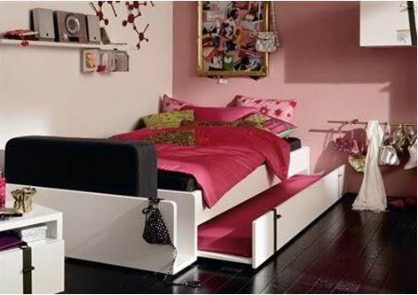 Decoracion juveniles nia medium size of decorar - Ideas para decorar habitacion juvenil femenina ...