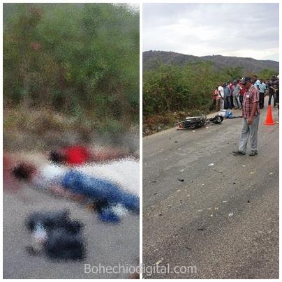 En Yaque mueren dos  en accidente de tránsito