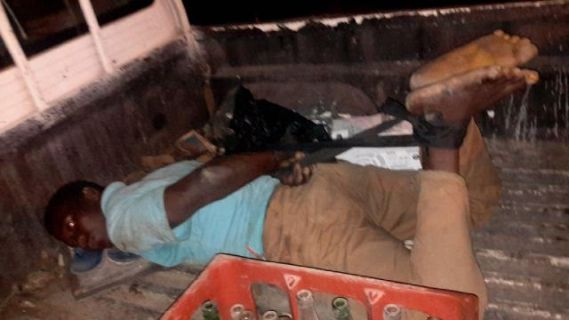 Lagos Police arrests man for tying employee's hands and legs and transporting him to Abuja on a Hilux