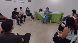 Secretaria de Saúde promove reunião com os ACS e apresenta à população de Pilõezinhos novo modelo de trabalho