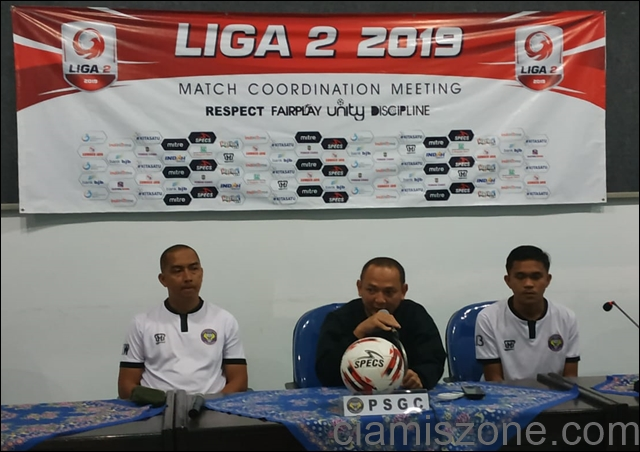 Hadapi Sriwijaya FC, PSGC Ciamis Siap Tampil All Out