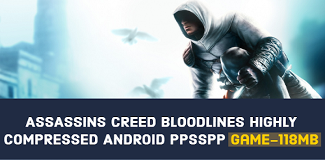 Assassin's Creed Bloodlines PSP ISO Highly Compressed 100mb