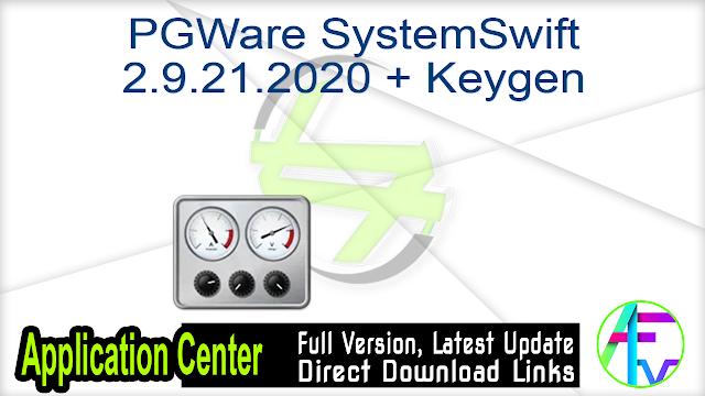 PGWare SystemSwift 2.9.21.2020 + Keygen